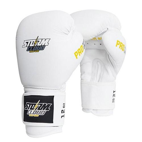 StormCloud Rękawice bokserskie Boxing Pro Białe
