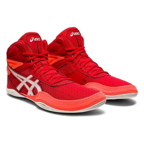 Asics Buty Zapaśnicze dla dzieci Matflex 6 GS Czerwone/Białe