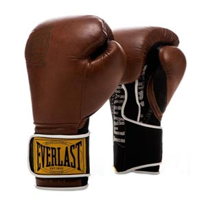 Everlast Rękawice bokserskie 1910 Classic Brązowe