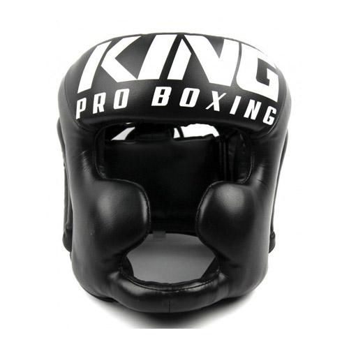 King Pro Boxing Kask Bokserski HG Czarny