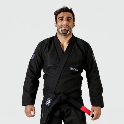 KiNGZ Kimono/Gi BJJ Balistico 3.0 Czarne